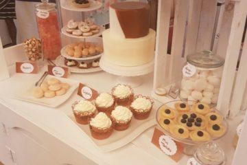 Sweet Table bei einer Hochzeit