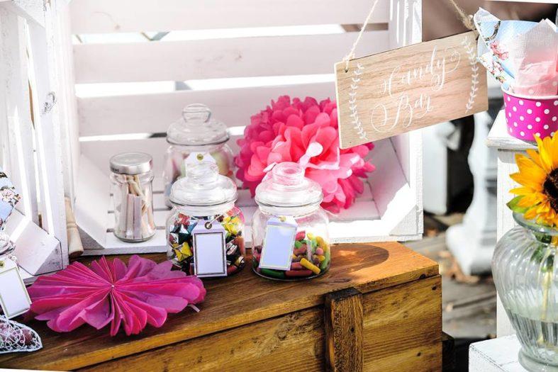 candy bar zubeh r f r die perfekte hochzeit die besten ideen und tipps. Black Bedroom Furniture Sets. Home Design Ideas