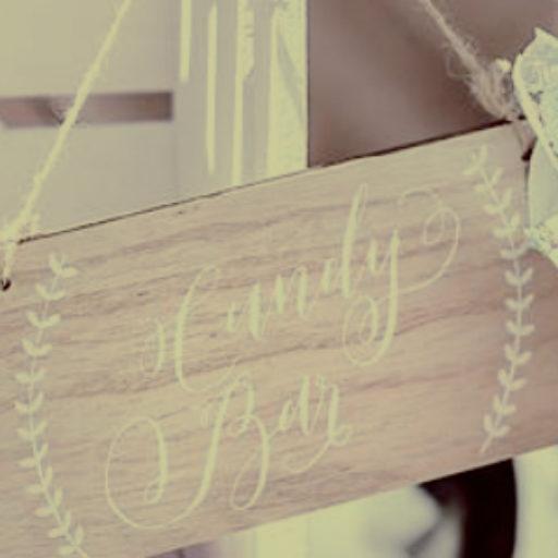 Candybar Schild
