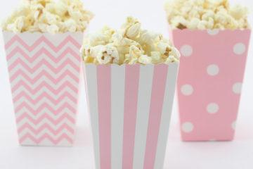 popcorn box rosa