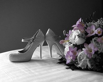 runde Schuhe Hochzeit