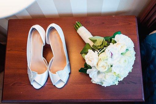 schöne Hochzeitsschuhe