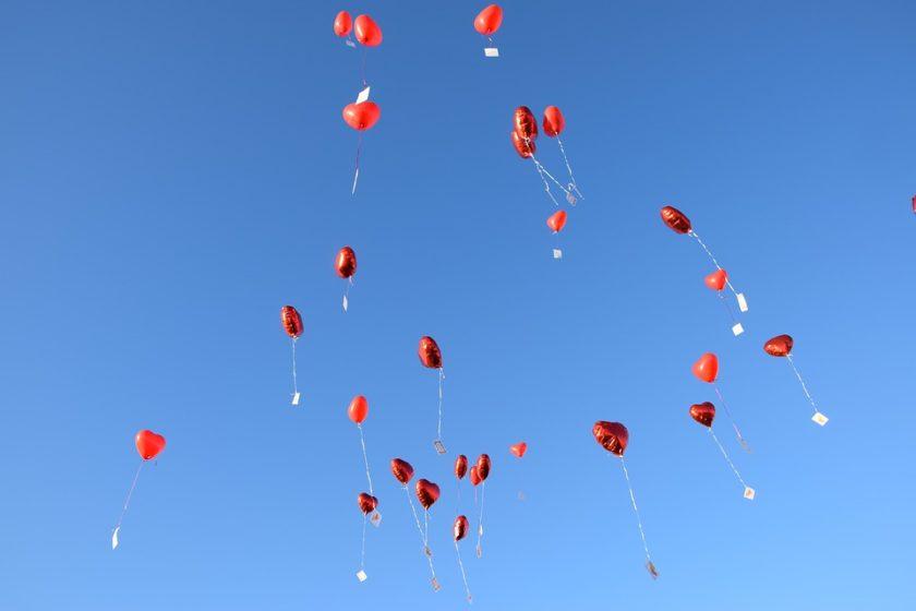 ballons hochzeit, led ballons hochzeit