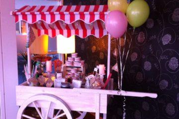 candy wagen mieten, candy wagen, candy cart