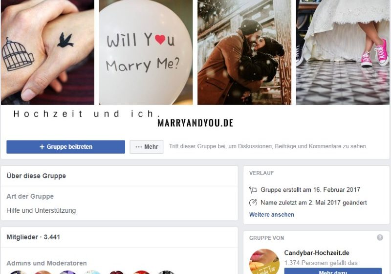 Braut-Community of Marryandyou.de